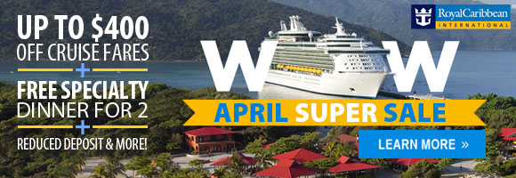 April Sale on Royal Caribbean