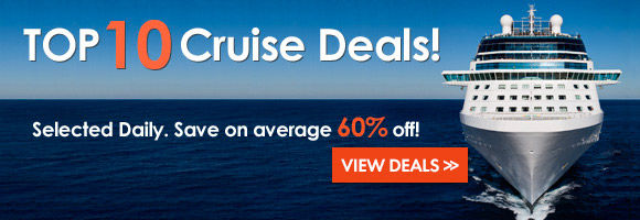 Visit Our Top 10 Cruise Deals. Updated Daily!